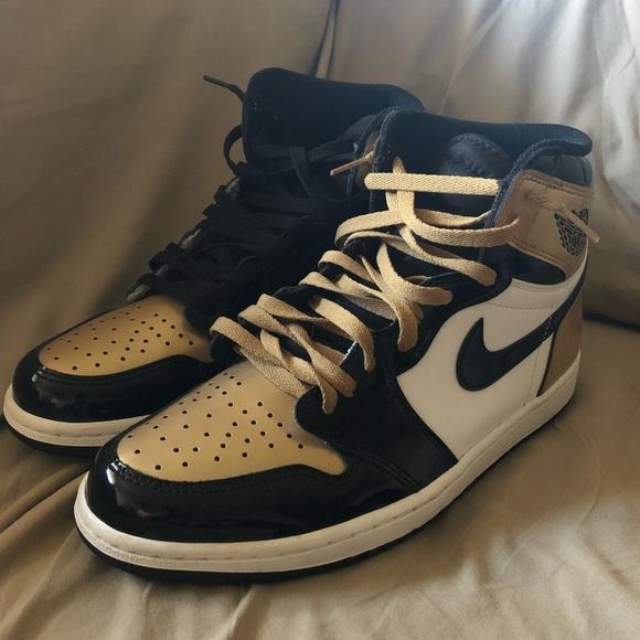 Gold Toe S Jordan Nike | Poshmark